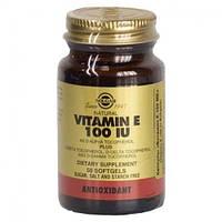Витамин Е 100 МЕ 550 мг (Vitamin E) Солгар №50