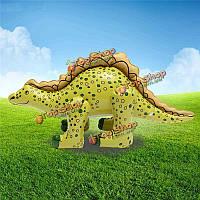 Надувные взорвать динозавра стегозавра 73 * 35 см детей дети партии плавать бассейн пляж игрушки
