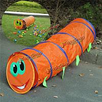 Портативный ползать туннель 150 * 46см дети дети выскакивают играть палатки крытый открытый игрушка сад