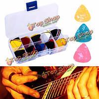 Медиаторы для гитары разноцветные 100шт