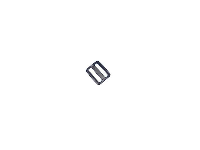 Пряжка (пластик) 2-х щелевая 20 мм