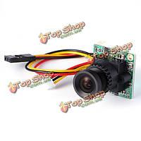 Мини- FPV камера 2.8mm 3.6mm широкий угол 23мм * 23мм для FPV гонщик беспилотный qav210 2 700TVL 1/3 CCD Effio - е, фото 1