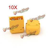 Подключите разъем мужчина & женщина радиоуправляемых батареи Amass XT60PW 10X