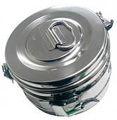 Коробка стерилизационная, D-390 мм (КСК-18п)