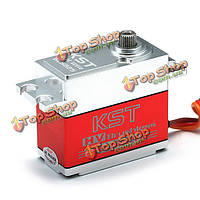 Высокий крутящий момент безщеточный HV металла цифровой сервопривод для радиоуправляемых моделей BLS825MG KST