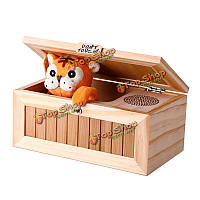 Игрушка звуковая Тигр в ящике