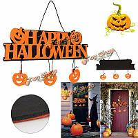 Хэллоуин тыква стены дверь висит табличка табличка на дверях знак дом с привидениями декор