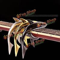 Акула стиль гитара Капо для гитары аксессуары народные электрические акустические