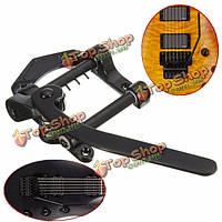 Черный подковы тремоло вибрато гитары мост хвостовик для Les Paul подходящего типа электрической гитары