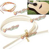 Целлулоида привязок purfling окантовкой полоски 1650mm коричневого цвета слоновой кости & ABS гитара