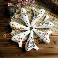 12 дыра альт с китайский окрашенные трещины Ocarina для начинающих дар