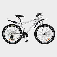 """Велосипед XM263E 26 """"серый, переключатель скорости"""