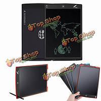 Howshow 12шт E-Note безбумажного LCD  дощечку офис школа рисования граффити игрушка подарок