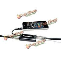 Флэнжер ФК-20 гитара / бас-черный конвертер адаптер для iPhone