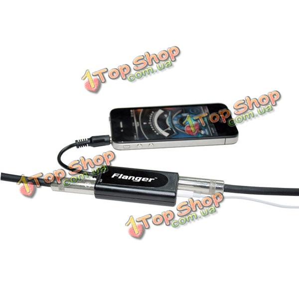 Флэнжер ФК-20 гитара / бас-черный конвертер адаптер для iPhone - ➊TopShop ➠ Товары из Китая с бесплатной доставкой в Украину! в Киеве