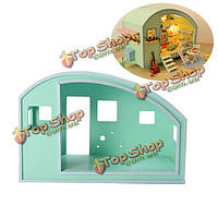 Время cuteroom travle кукольный деревянный каркас 28 * 28.5 * 14см поделки кукольный дом часть