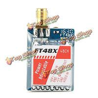 FT48X 5.8G 48ch 0.25/25/200/600мВ регулируемый видео передатчик FPV Racer VTX raceband