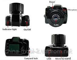 Мини камера DV DVR, регистратор Y2000, Экшн-камера  RS-101 , фото 3