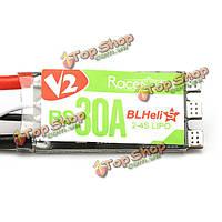 RacerStar RS30А V2 30А blheli_s опто 2-4s ESC поддержка oneshot42 мультисъемки для FPV гонщик