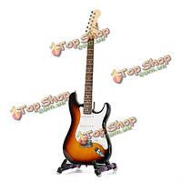 Zebra™ ST-02 го типа твердый тополь электрическая гитара с Aroma АGS-08 складная металлическая подставка