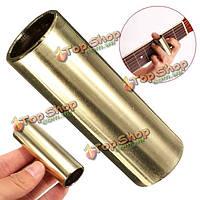 Палец нержавеющая сталь слайдер хромированный слайдер для электрической гитары и баса