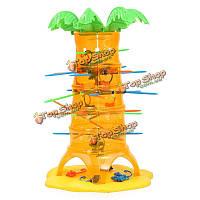 Смешно падение обезьяны настольная игра семья игрушки малышей друзей подарка партии