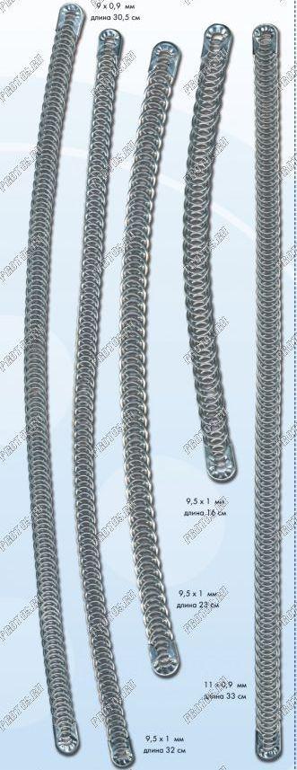 Косточка  бельевая металическая нержавеющая спиральная  самовостанавливающаяся 10 см 25 грн  за 1шт