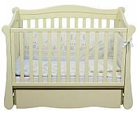 Детская кроватка Верес Соня ЛД 18 маятник+ящик (слоновая кость)