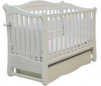 Детская кроватка Верес Соня ЛД 18 маятник+ящик (белый)