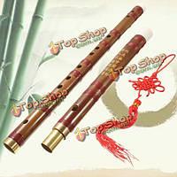 Ручной традиционный китайский музыкальный инструмент d ключ бамбуковая флейта 61мм