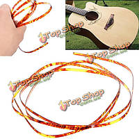 Коричневый гитары целлулоида связывание purfling полосы для акустической гитары классической декора