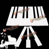 31шт белый электронный орган слоновой комплект для 52 слоновой электронный орган