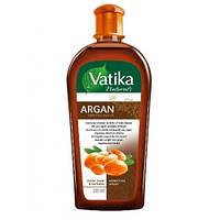 Масло для волос Dabur Vatika Moroccan Argan с экстрактом арганы Мягкое увлажнение, 200 мл