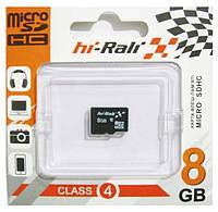 Карта памяти HI-RALI microSDHC 8 GB card Class 4