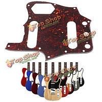 Коричневый черепаховый гитара накладкой царапина пластина для гитары Fender Jaguar