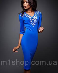 Платье с перфорацией | Виола jd