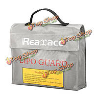 Realacc Lipo батареи портативный взрывозащищенный мешок безопасности 240x180x65мм