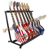 GS-7 многофункциональный держатель гитары музыкальный инструмент гитара складной подставка