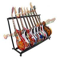 GS-9 многофункциональный держатель гитары музыкальный инструмент гитара складной подставка