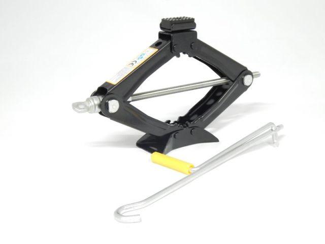 Домкрат механический FORSAGE ST-103А 1.2т с резиновой накладкой