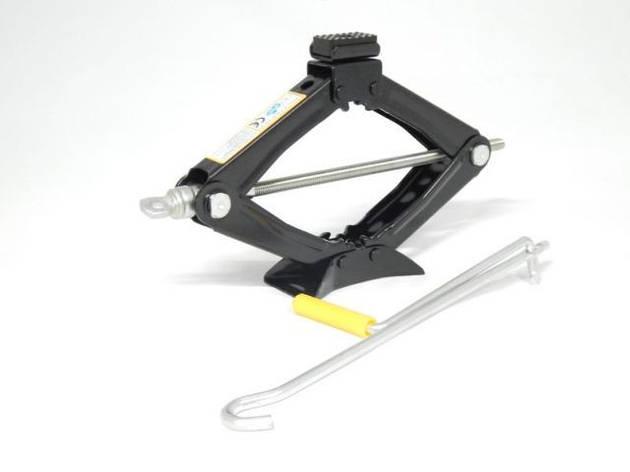 Домкрат механический FORSAGE ST-103А 1.2т с резиновой накладкой, фото 2