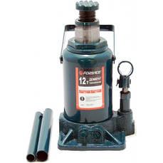Домкрат бутылочный низкий FORSAGE T91207 12т с клапаном (190-350мм)