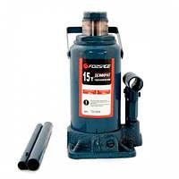 Домкрат бутылочный FORSAGE T91504 15т с клапаном (225-425мм)