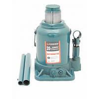 Домкрат бутылочный FORSAGE T92007 20т с клапаном (190-335мм)