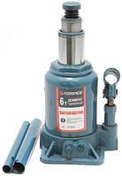 Домкрат бутылочный FORSAGE TF0602 с двумя штоками 6т (154-354мм)