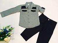 Костюм   для мальчика с рубашкой и брюками на 4 - 6 лет