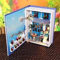 Hoomeda b003 летние каникулы комплект DIY кукольный театр коробка коллекция кукла дом детский подарок