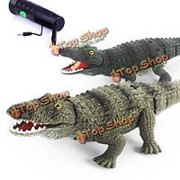 Инфракрасный пульт дистанционного управления крокодил электрическим имитатором RC игрушка для детей детей