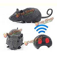 Инфракрасный пульт дистанционного управления мыши электрический моделирование игрушка RC мышь