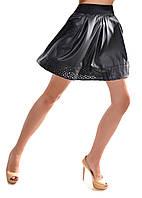 Женская кожанная юбка  р.  S.M.L